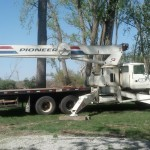 Our main crane.  120', 22 ton